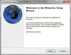 Скриншот 1 из 1 программы Waterfox
