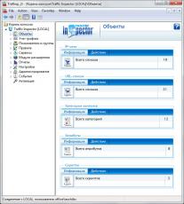 Скриншот 2 из 4 программы Traffic Inspector