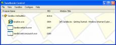 Скриншот 2 из 3 программы Sandboxie