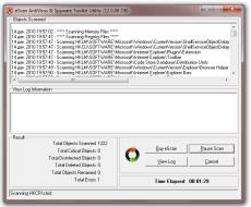 Скриншот 2 из 4 программы eScan AntiVirus Toolkit (MWAV)