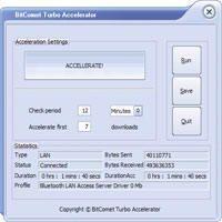 Скриншот 1 из 1 программы eMule Turbo Accelerator