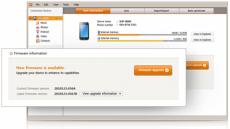Скриншот 2 из 4 программы Samsung Kies
