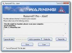 Скриншот 2 из 3 программы RemoveIT