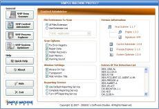Скриншот 1 из 2 программы Simple Machine Protect