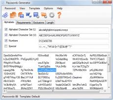 Скриншот 1 из 1 программы Passwords Generator