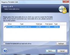 Скриншот 5 из 6 программы Steganos Privacy Suite