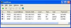 Скриншот 1 из 1 программы SniffPass