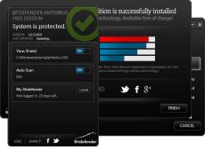 Скриншот 1 из 1 программы BitDefender Antivirus
