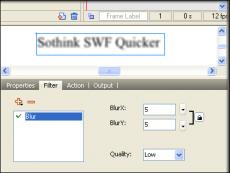 Скриншот 5 из 5 программы Sothink SWF Quicker