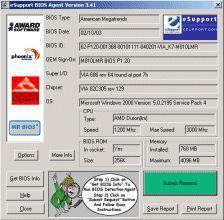 Скриншот 1 из 1 программы The BIOS Agent