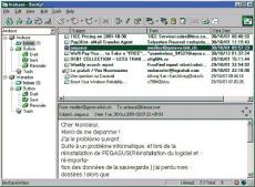 Скриншот 2 из 2 программы Becky Internet Mail