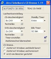 Скриншот 1 из 1 программы CD Bremse
