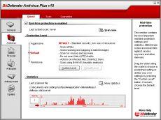 Скриншот 1 из 1 программы BitDefender Antivirus 2012