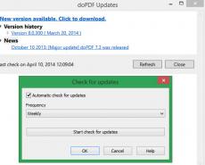 Скриншот 5 из 10 программы doPDF