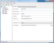 Скриншот 1 из 1 программы Actual Installer