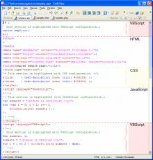 Скриншот 2 из 2 программы EmEditor