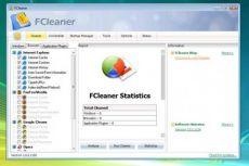 Скриншот 1 из 2 программы FCleaner