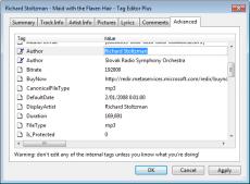 Скриншот 9 из 11 программы Windows Media Player Plus!