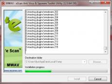 Скриншот 4 из 4 программы eScan AntiVirus Toolkit (MWAV)