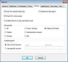 Скриншот 1 из 4 программы SoftPerfect Network Scanner