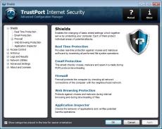 Скриншот 2 из 4 программы TrustPort Internet Security