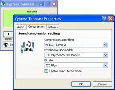 Скриншот 1 из 1 программы Vypress Tonecast