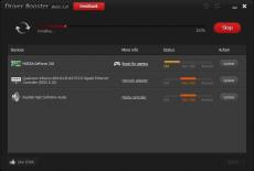 Скриншот 1 из 2 программы Driver Booster