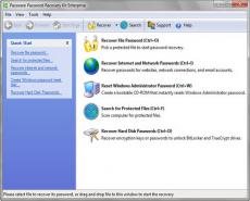 Скриншот 1 из 1 программы Passware Password Recovery Kit
