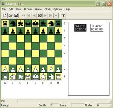 Скриншот 1 из 1 программы Arasan Chess