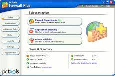 Скриншот 1 из 1 программы PC Tools Firewall