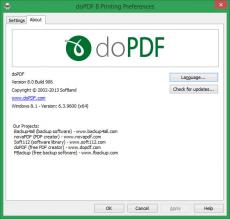 Скриншот 9 из 10 программы doPDF