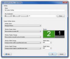 Скриншот 1 из 5 программы DisplayFusion