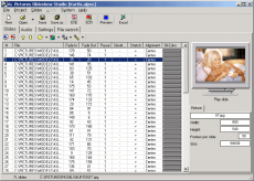 Скриншот 1 из 6 программы AL Pictures Slideshow Studio