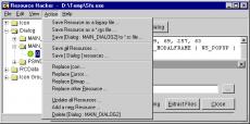 Скриншот 5 из 5 программы Resource Hacker