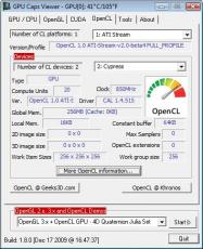 Скриншот 6 из 10 программы GPU Caps Viewer