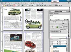 Скриншот 1 из 1 программы Scribus