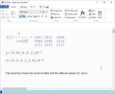 Скриншот 3 из 4 программы RedCrab Calculator