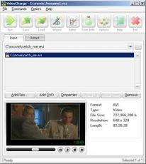 Скриншот 1 из 2 программы VideoCharge