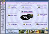 Скриншот 1 из 1 программы VAMP Media Center