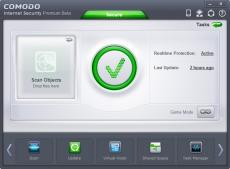 Скриншот 1 из 1 программы COMODO Internet Security