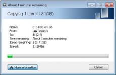 Скриншот 1 из 4 программы Ultracopier