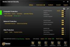 Скриншот 2 из 2 программы Norton Security