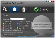 Скриншот 2 из 2 программы Panda Free AntiVirus