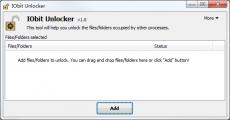 Скриншот 2 из 4 программы IObit Unlocker