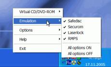 Скриншот 3 из 3 программы DAEMON Tools