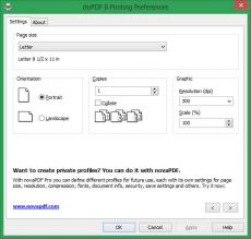 Скриншот 10 из 10 программы doPDF