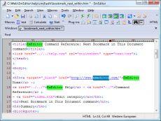 Скриншот 3 из 3 программы EmEditor