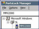 Скриншот 1 из 1 программы PortsLock