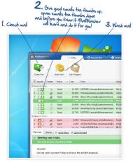 Скриншот 4 из 5 программы MailWasherPRO