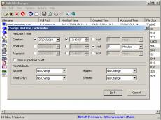 Скриншот 1 из 1 программы BulkFileChanger